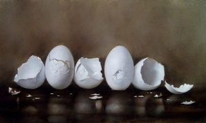 Clinton T. Hobart: Cracked Eggs
